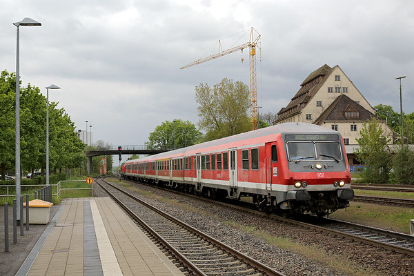 218491 (on rear), Ravensburg 3/5/2016 IRE4210 1606 Lindau Hbf-Ulm Hbf