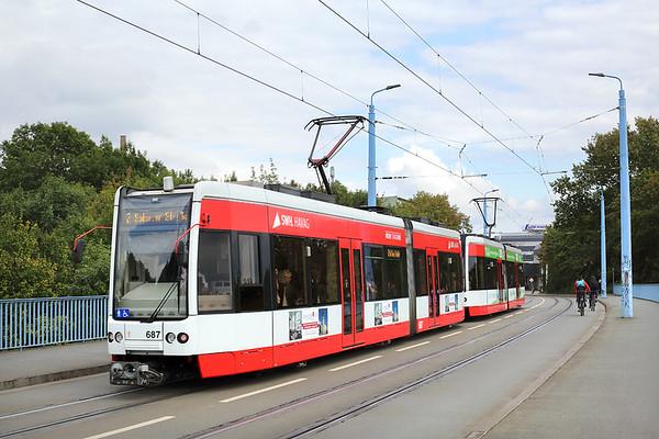 687 and 688, Mansfelder Straße 19/9/2017