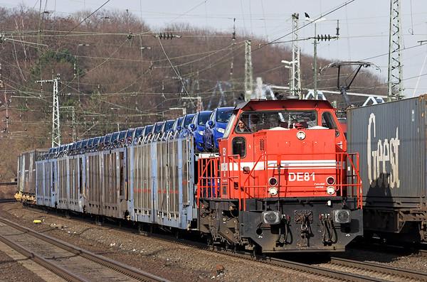 DE81 Köln West 6/3/2013