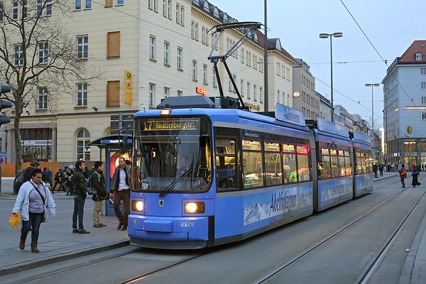 2129 München Hbf 22/2/2016