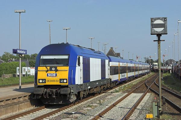 DE2000-02 Westerland 7/6/2007 NOB80610 1717 Niebüll-Westerland