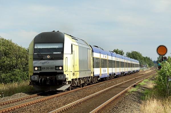 ER20-001 Langenhorn 14/7/2015 NOB81720 1540 Hamburg Altona-Westerland