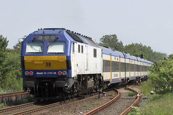 DE2700-08 Morsum 7/6/2007 NOB80539 1352 Westerland-Hamburg Altona