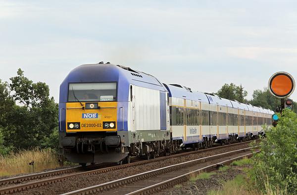 DE2000-02 Langenhorn 14/7/2015 NOB81722 1640 Hamburg Altona-Westerland