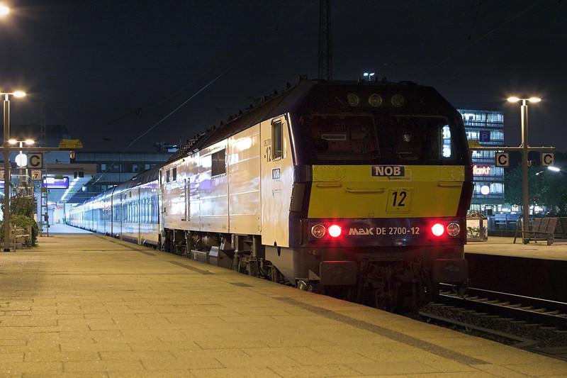 DE2700-12 Hamburg Altona 7/6/2007<br /> NOB80535 2022 Westerland-Hamburg Altona