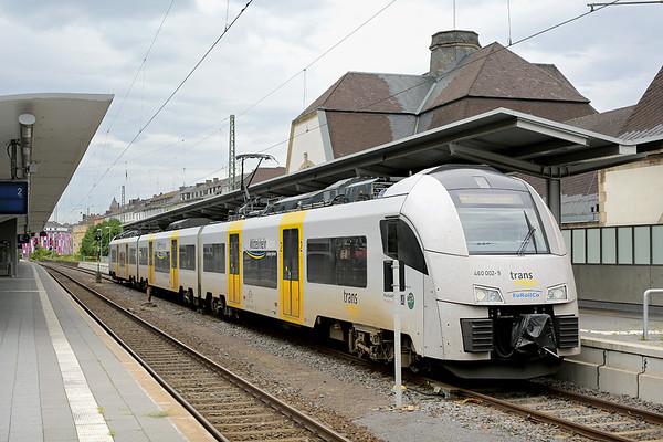 460002 Koblenz Hbf 13/8/2014 MRB25379 1237 Koblenz Hbf-Boppard Hbf