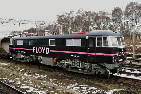 450001 (ex 86248), Crewe 8/2/2009