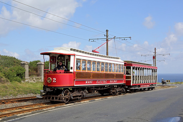 2 and 40, Lag Birragh 9/8/2016 1255 Laxey-Douglas