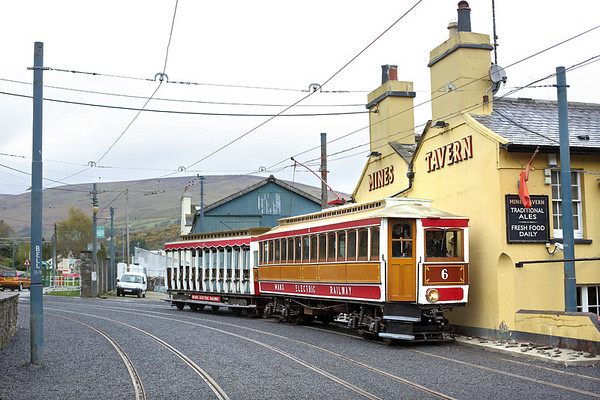 6 and 47, Laxey 17/4/2014 1510 Ramsey-Douglas