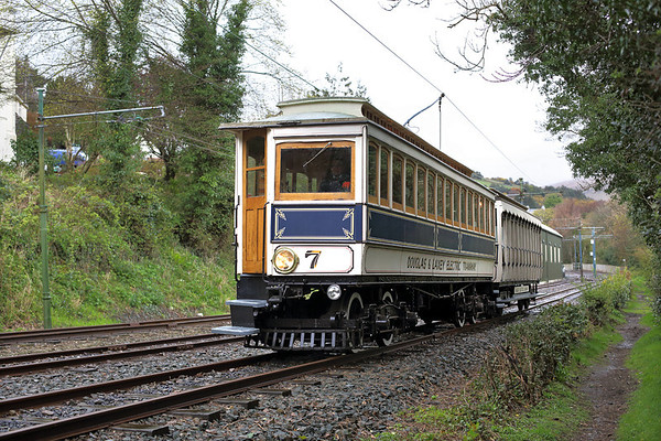 7 and 48, Laxey 17/4/2014 1440 Ramsey-Douglas