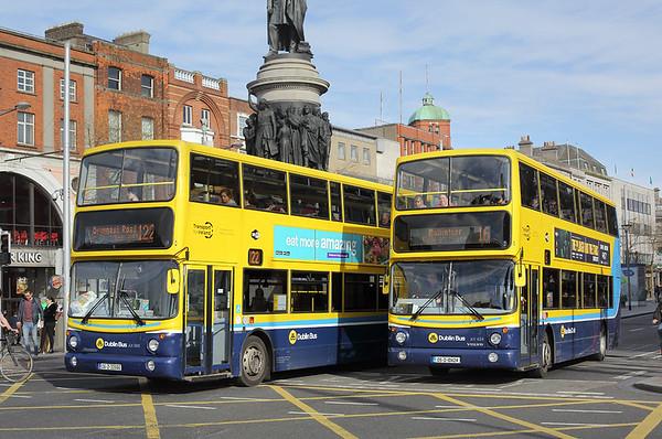 AV424 05-D-10424 and AX566 06-D-30566, Dublin 19/4/2018