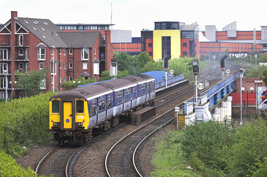 8788 Belfast Central 16/6/2011<br /> 0900 Whitehead-Belfast Central