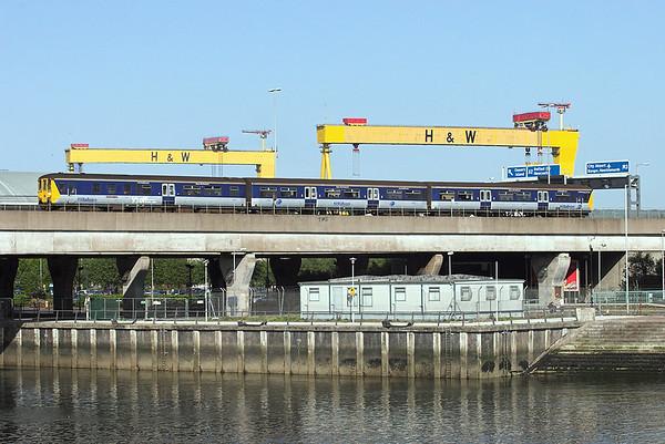 8454 Belfast 27/4/2010 1642 Belfast Central-Larne Harbour
