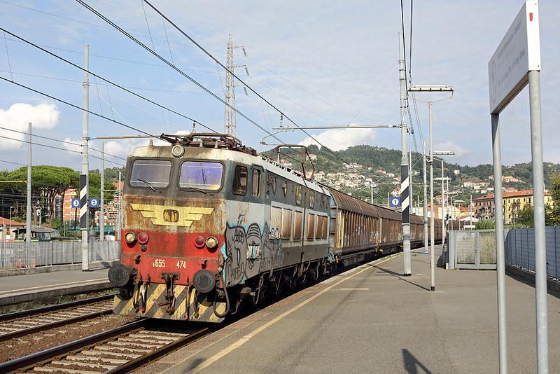 E655-474 La Spezia Migliarina 26/9/2013