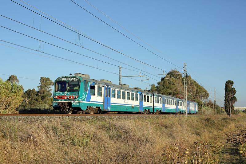 Le682-017 Vada 23/9/2013<br /> R6779 1729 Livorno Centrale-Grosseto