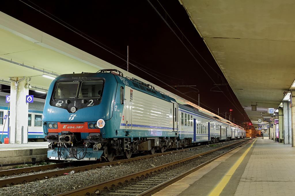 E464-357 Pisa Centrale 26/9/2013