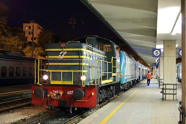 D245-6032 and E464-462, La Spezia Centrale 26/9/2013