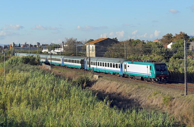 E464-399 La California 25/9/2013<br /> RV2342 1417 Roma Termini-Pisa Centrale
