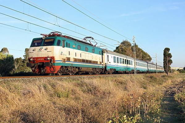 E444-074 Vada 23/9/2013 IC518 1540 Roma Termini-Ventimiglia