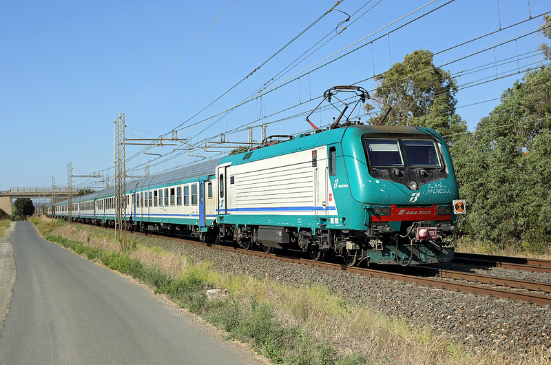 E464-502 La California 25/9/2013<br /> RV2340 1215 Roma Termini-Pisa Centrale