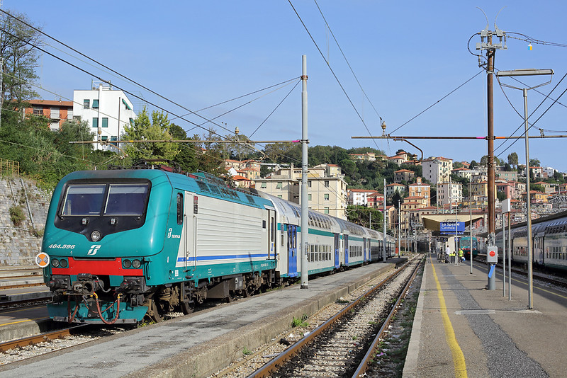 E464-596 La Spezia Centrale 26/9/2013