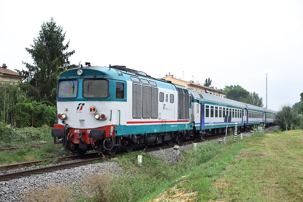 D445-1111 Certaldo 27/9/2013<br /> R11755 0810 Firenze SMN-Siena