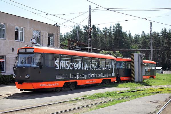 070 and 071, Butļerova iela Depo 4/6/2014