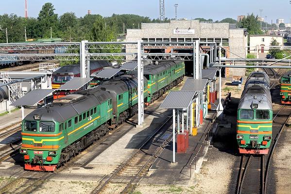2M62-0928 and 2M62У-0125, Riga Daugmale 7/6/2014