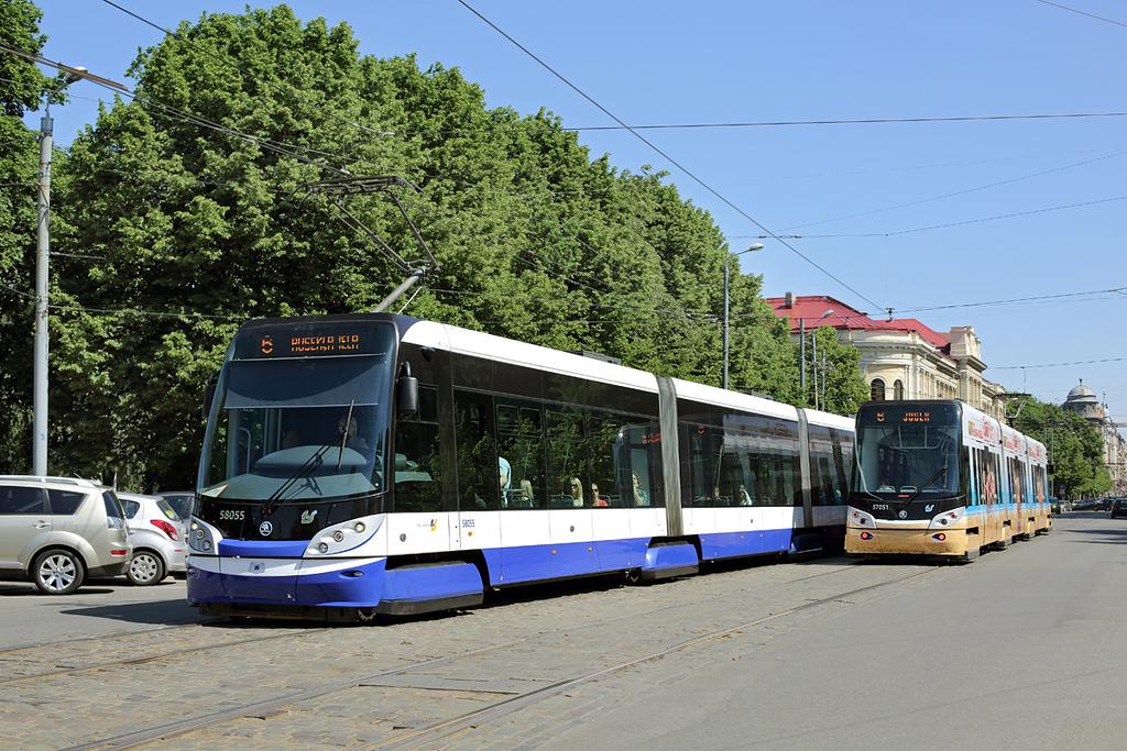 58055 and 57051, Krišjāna Barona iela 7/6/2014
