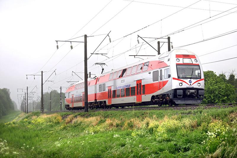 EJ575-006 Žasliai 1/6/2014<br /> EJ836 1755 Kaunas-Vilnius