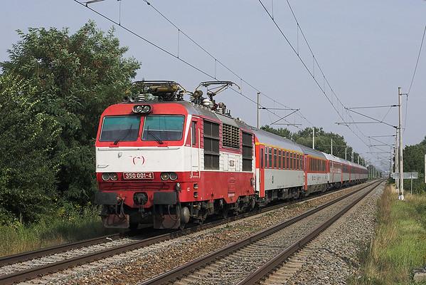 350001 Popovice u Rajhradu 16/9/2009 EC273 0730 Praha Holešovice-Budapest Keleti pu