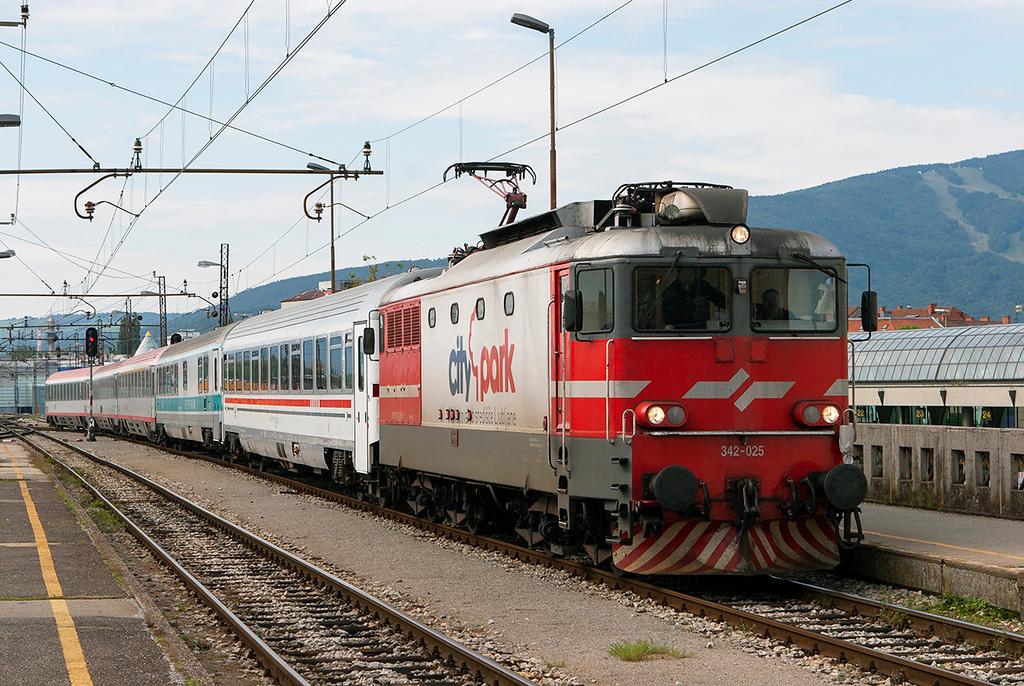 342-025 Maribor 11/9/2010<br /> EC158 0725 Zagreb Gl.kol-Wien Meidling