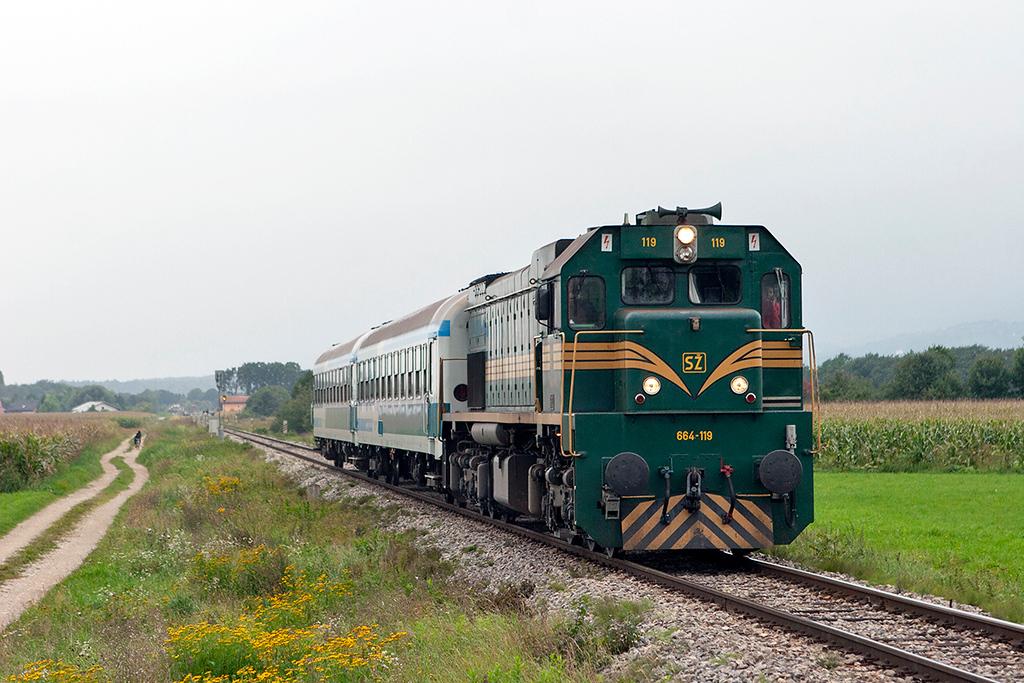 664-119 Sikole 16/9/2010<br /> R640 1450 Pragersko-Hodos