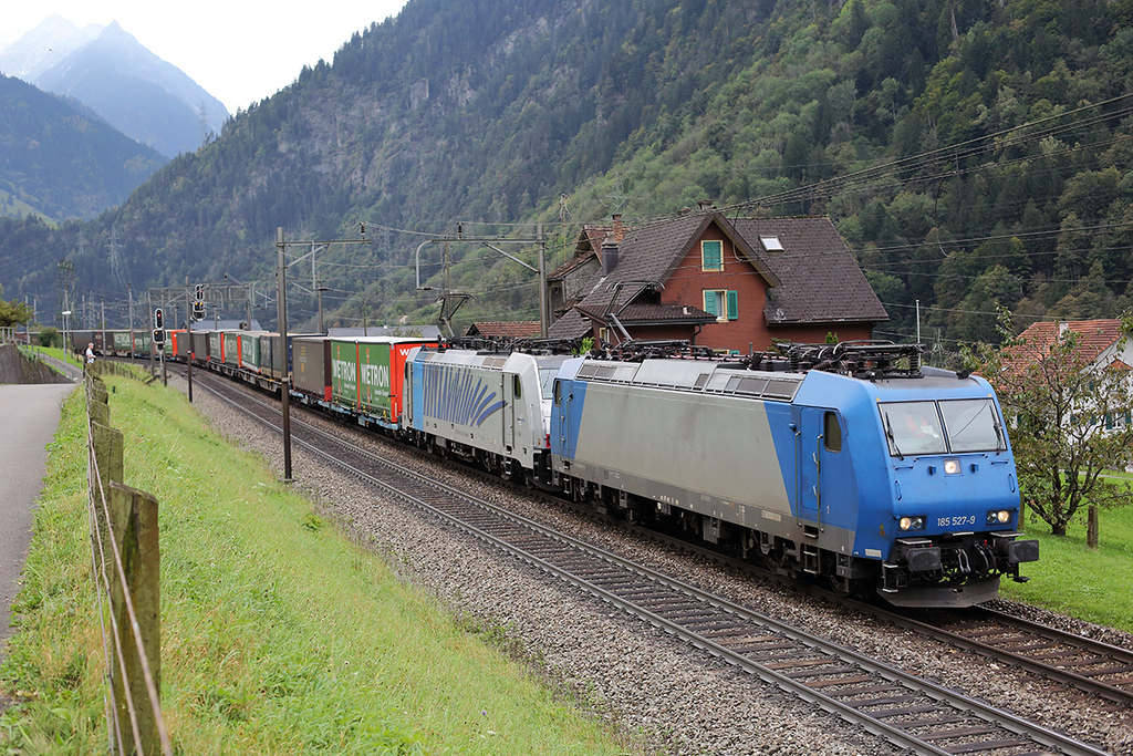 185527 and 186102, Silenen 30/9/2014