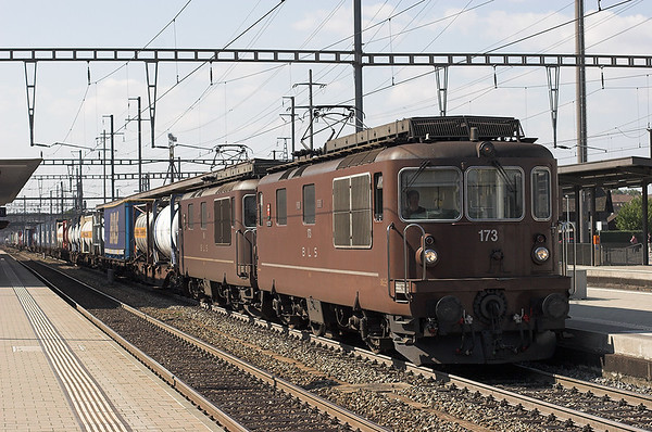 173 and 188, Pratteln 20/9/2008