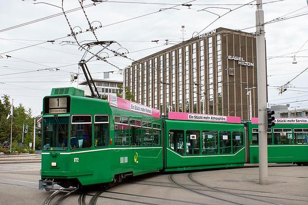 672 Basel Hauptbahnhof 12/9/2012