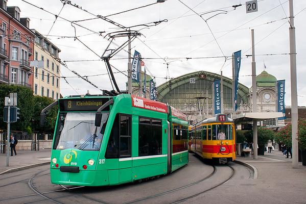 317 Basel Hauptbahnhof 12/9/2012
