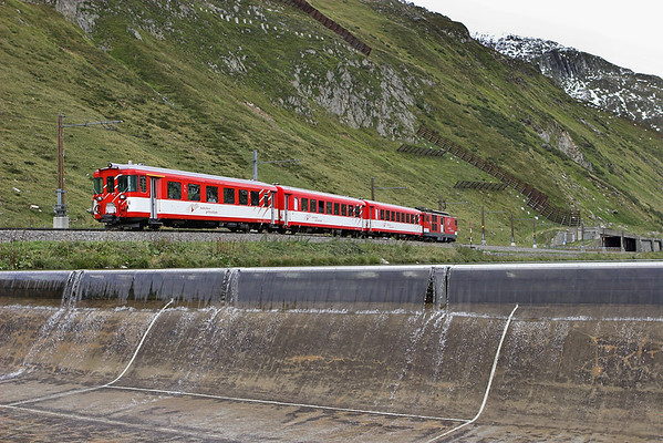 93 (on rear), Oberalppass 18/9/2008 R859 1419 Disentis-Andermatt