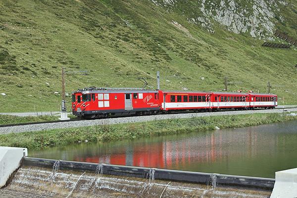 22 Oberalppass 18/9/2008 R847 1400 Oberalppass-Andermatt