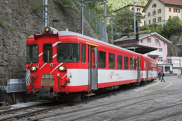 53 (on rear), Göschenen 18/9/2008 R629 0958 Göschenen-Andermatt