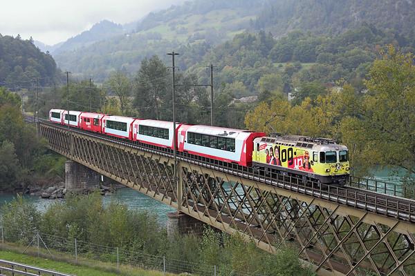 611 Reichenau-Tamins 1/10/2014 D902 0852 Zermatt-St Moritz
