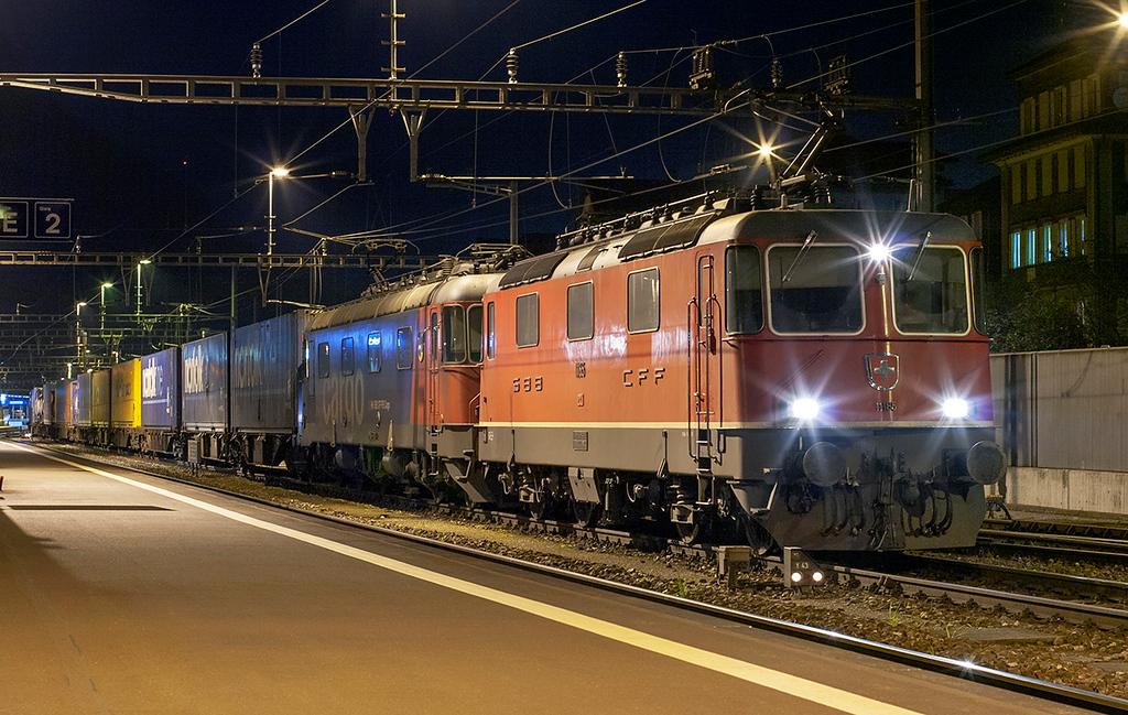 11185 and 620061, Erstfeld 16/9/2008