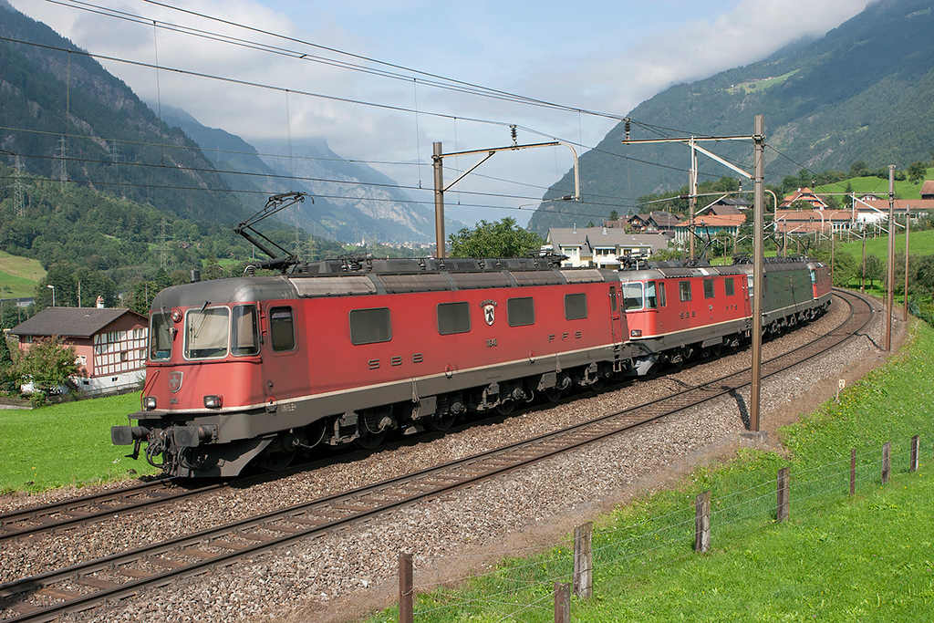 11646, 11327, 11663 and 11305, Silenen 17/9/2008