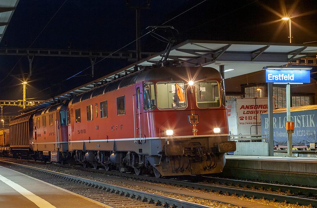 11685 and 11359, Erstfeld 16/9/2008
