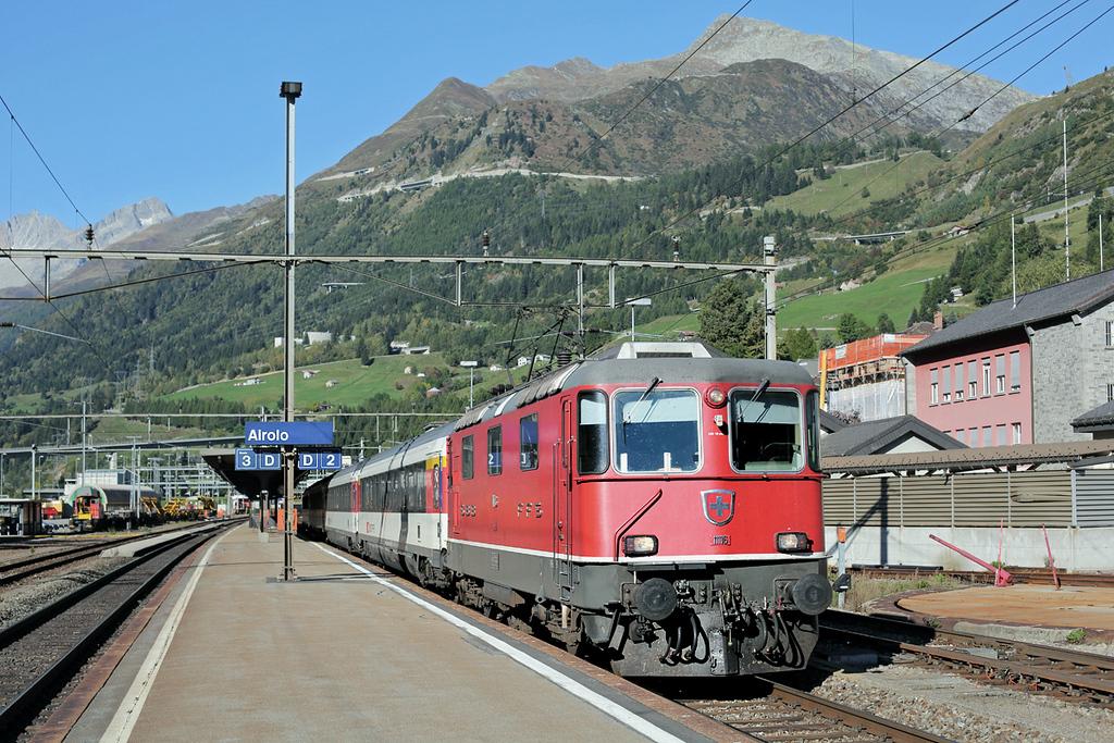 11116 Airolo 2/10/2014<br /> EC253 0847 Luzern-Milano Centrale