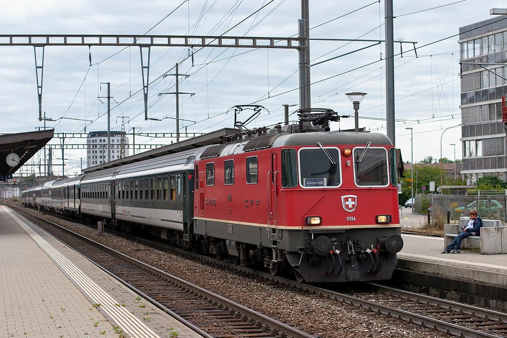 11194 Pratteln 12/9/2012<br /> IR1973 1213 Basel SBB-Zürich HB