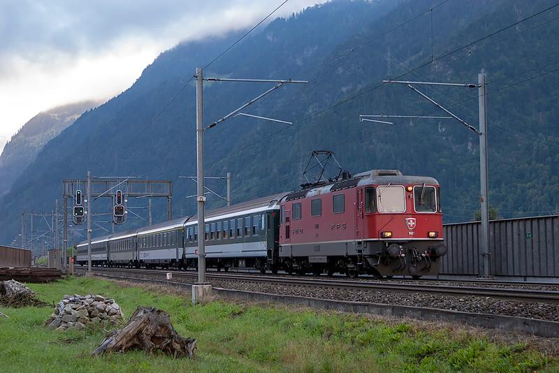 11129 Erstfeld 17/9/2008<br /> IR2268 0559 Chiasso-Zürich HB
