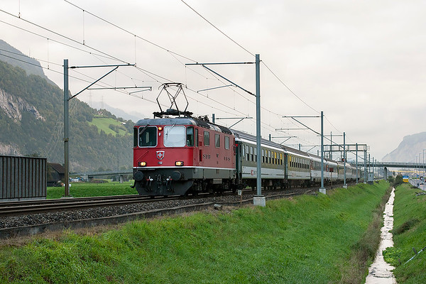 11152 Erstfeld 17/9/2008 IR2159 0604 Basel SBB-Locarno