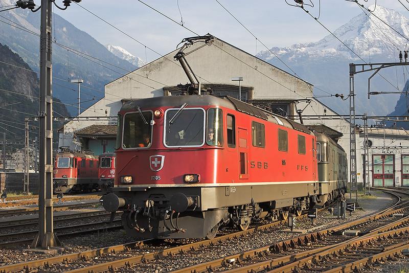 11305 and 11663, Erstfeld 17/9/2008