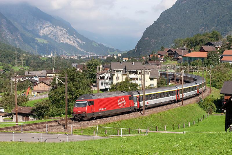 460007 Silenen 17/9/2008<br /> EC111 0904 Basel SBB-Venezia Santa Lucia